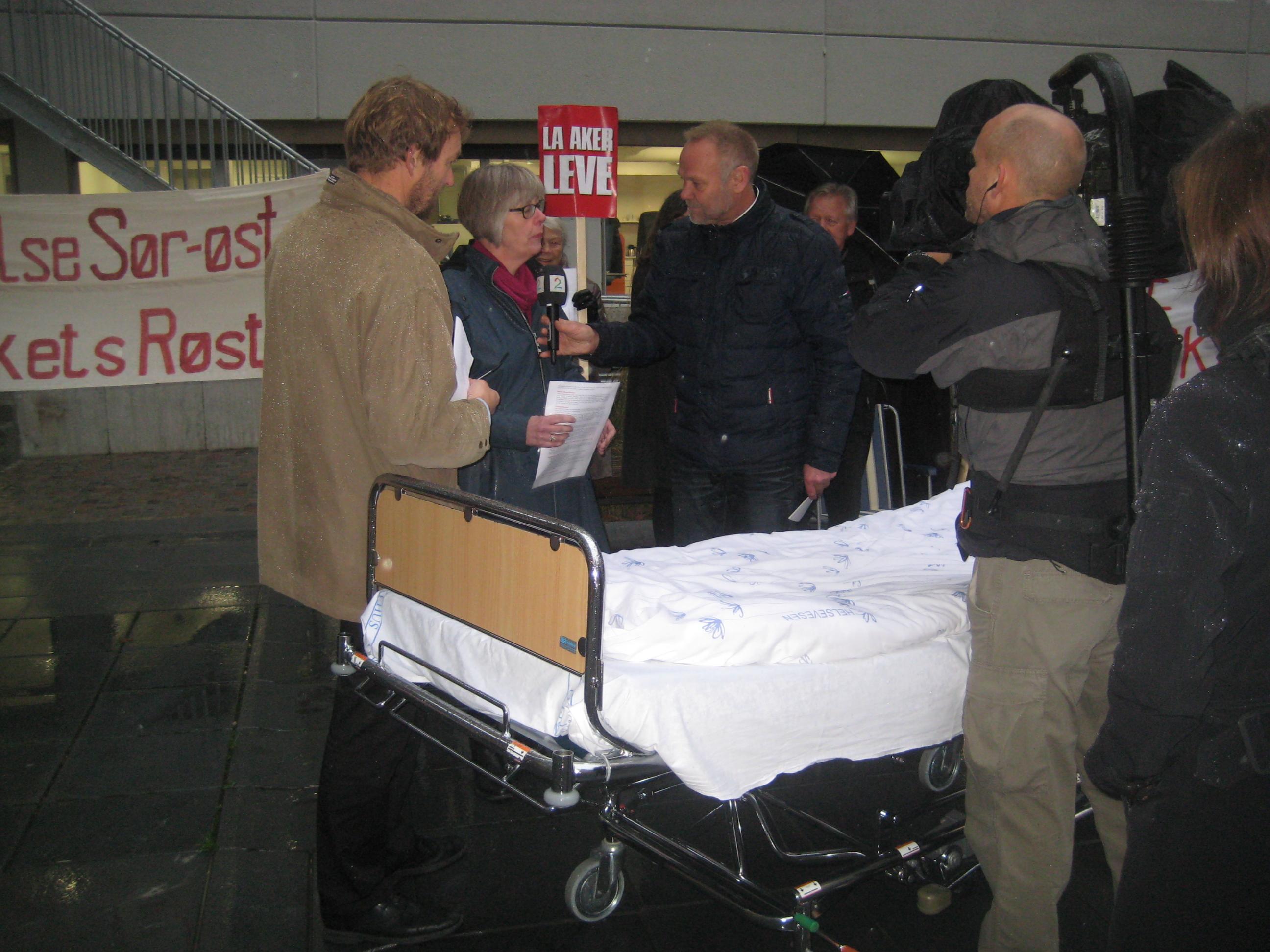 Intervju med TV2 Nyhetskanalen